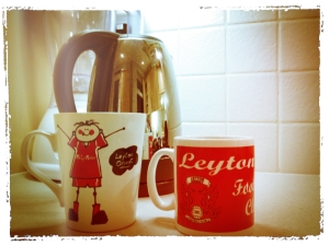 Leyton Orient Coffee Cups