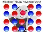 Click for November Tax Tips