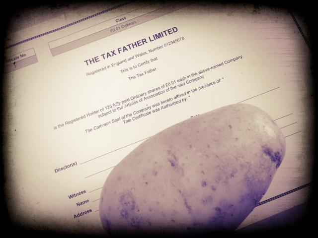 Share Certificate and Potato